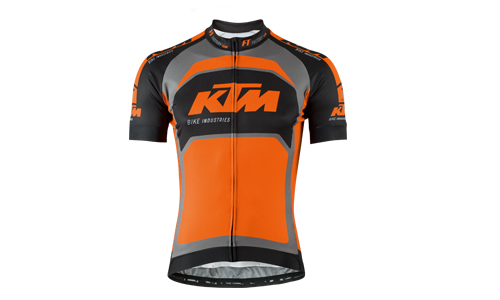 Dres KTM Factory Team, šedý